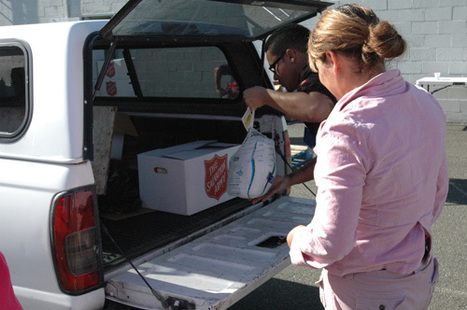 Salvation Army gives away free food, turkeys in Vallejo - Vallejo Times-Herald   Salvation Army   Scoop.it