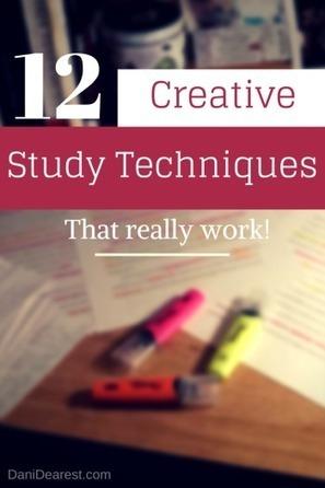12 Creative Study Techniques | Gestão do Conhecimento e Aprendizagem - Knowledge management and learning (KM) | Scoop.it