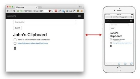 Una herramienta para copiar y pegar texto entre varios dispositivos sin instalar nada | Aprendiendoaenseñar | Scoop.it