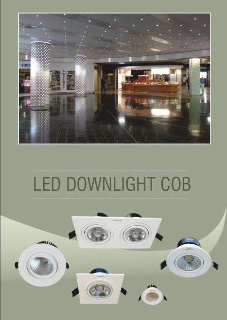 Find One of the Best Commercial LED Downlights Online India | Commercial Luminaires | Scoop.it