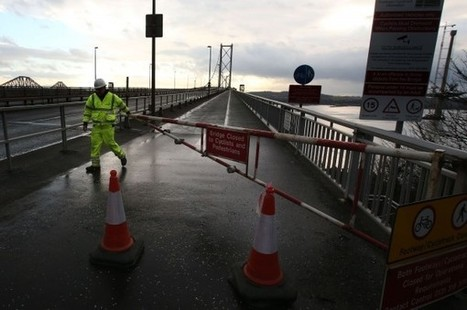 Councillors who postponed Forth Road Bridge repairs until 2016 are blamed for closure crisis | Yes Campaign 2014 | Scoop.it
