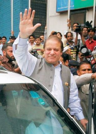 Nawaz Sharif declares victory for his party in Pakistan vote - The Times of India | Pakistan & The World | Scoop.it
