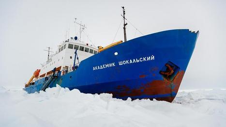 Pourquoi l'expédition russe en Antarctique fait grincer des dents | Actualités com', pub | Scoop.it