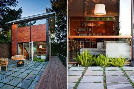 The Wolfback Ridge FlatPak House » CONTEMPORIST | Pre Fab Homes | Scoop.it