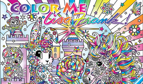Lisa Frank to Unveil New Line of Adult Coloring Books | Artdictive Habits : Sustainable Lifestyle | Scoop.it