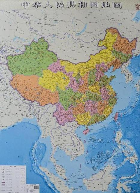 China publishes new map | wilmington school libraries | Scoop.it