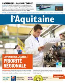 Le site institutionnel du Conseil régional d'Aquitaine - Actualités - Découvrez le dernier numéro du journal L'Aquitaine | BIENVENUE EN AQUITAINE | Scoop.it