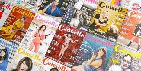 Placé en redressement judiciaire, le magazine Causette promet de ne pas licencier | Actu des médias | Scoop.it