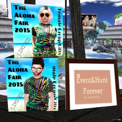 The Aloha Fair 2015 TShirt Group Gift by Gypsy Chic | Teleport Hub - Second Life Freebies | Second Life Freebies | Scoop.it
