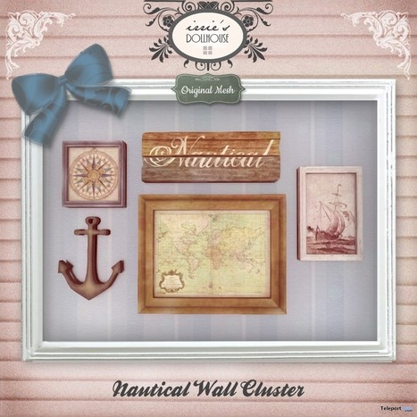 Nautical Wall Cluster Group Gift by irrie's Dollhouse | Teleport Hub - Second Life Freebies | Second Life Freebies | Scoop.it