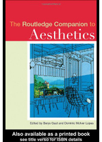 The Routledge Companion to Aesthetics (Routledge Philosophy Companions) – Berys Gaut; Dominic Lopes ebook | e-Books | Stuffaliknows | Scoop.it