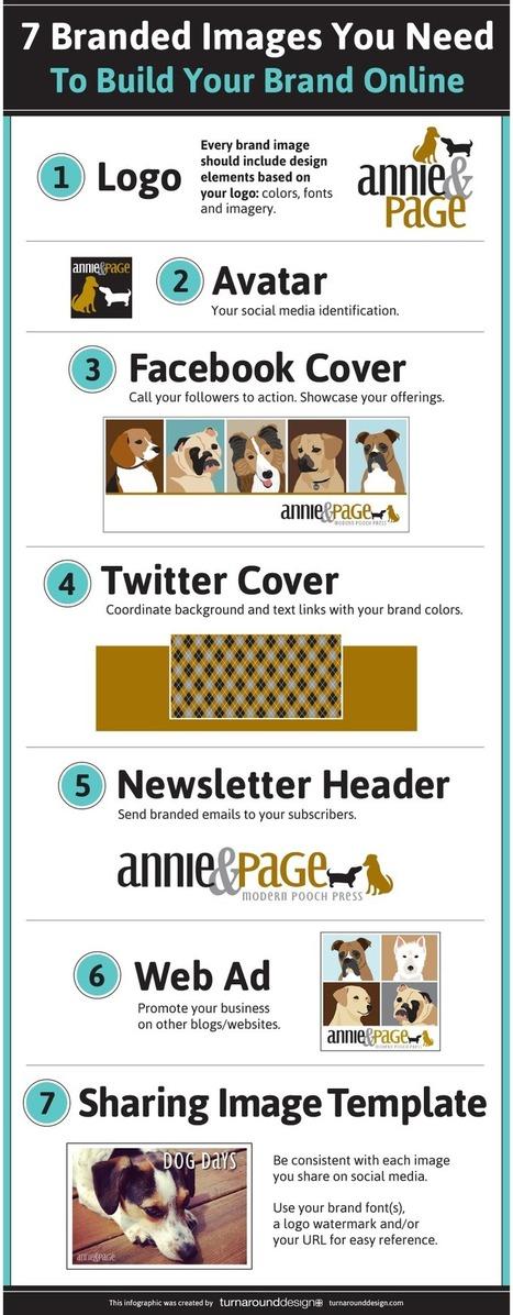 7 imágenes que necesitas para crear tu marca online #infografia #infographic #marketing   Marketing Online   Scoop.it