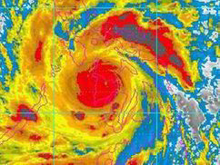 The biggest storm in history batters the Philippines - Express.co.uk | Rap World History | Scoop.it