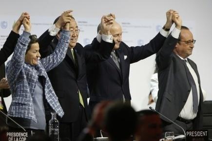 Accord historique à Paris pour sauver la planète du désordre climatique | Ecologie & société | Scoop.it