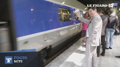 Patrick Kanner, chef de gare le temps d'un départ en colonie de vacances | Tourisme social | Scoop.it