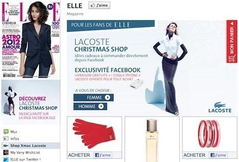 Lacoste donne le coup d'envoi du social shopping pour Noël | 2- Du social retailing à l'innovation des points de vente | Scoop.it