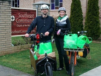 Cargo bikes cut cars and trucks from local deliveries : TreeHugger | Real World Cycling | Scoop.it