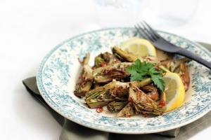 Pan Roasted Artichokes | À Catanada na Cozinha Magazine | Scoop.it