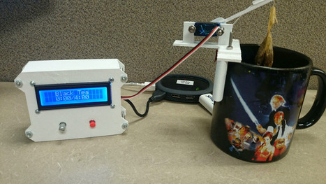 Steeping Tea Perfectly With An Arduino - Hackaday | Raspberry Pi | Scoop.it