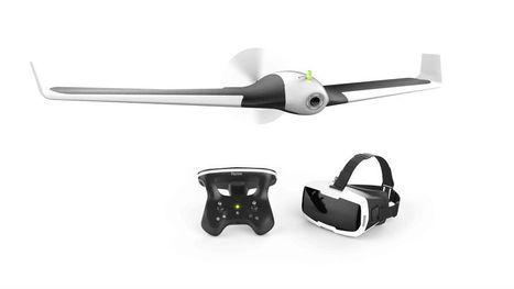 Il y a un copilote dans le drone Disco | Techniques de l'ingénieur | Actualité Aéromodélisme | Scoop.it