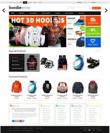 Hoodies & Sweatshirts Clothing Store – HoodieWear   Premium iThemes   Themes & Templates   Scoop.it