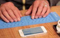 Noticias de Tecnología ¿Problemas para escribir desde el móvil? Llega MyType, el teclado enrollable | COMUNICACIONES DIGITALES | Scoop.it