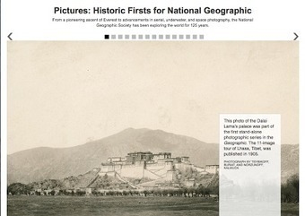 Free Technology for Teachers: 125 Years of Exploration in Pictures | Hamilton West Shared Resources | Scoop.it