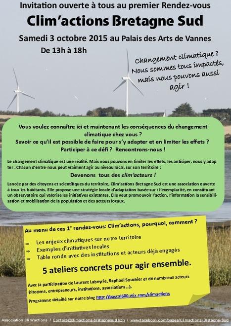 Vannes: Bretons mobilisés face au climat | ECONOMIES LOCALES VIVANTES | Scoop.it
