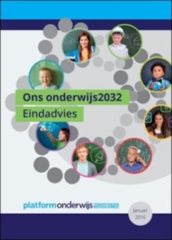 Edu-Curator: Gespot! Platform Onderwijs 2032: Eindadvies 'Ons onderwijs2032' | Educatief Internet - Gespot op 't Web | Scoop.it
