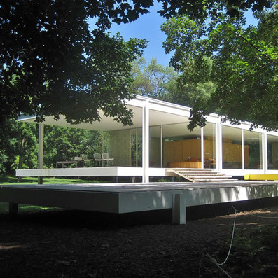 Hydraulic jacks lift Mies van der Rohe's Farnsworth House over floods | Architecture and Architectural Jobs | Scoop.it