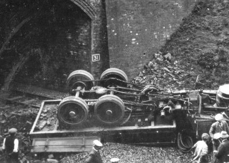 Long-lost photos of crash that closed a rail line | Railway anthology | Scoop.it