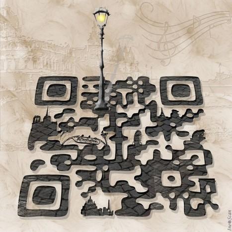QR Code art – I love Paris | QR code news | Scoop.it