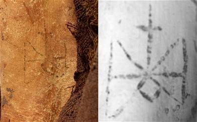 Tattoo Discovered on Ancient Egyptian Mummy - Archaeology Magazine | Freelance Writing and Media Marketing | Scoop.it