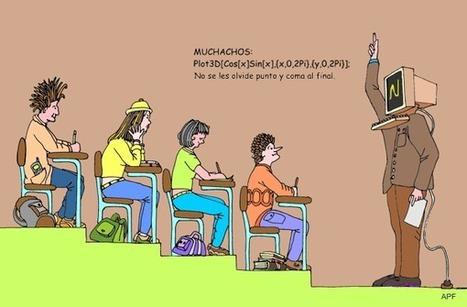 caricatura-1111.gif (600x394 pixels) | practica | Scoop.it
