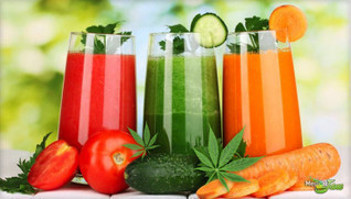 Juicing Cannabis: The Potential Health Benefits of Treating Cannabis Like a Vegetable | Green Lifestylez | Scoop.it