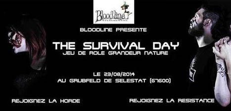 Survival Day, seconde édition du jeu de rôle grandeur nature à Sélestat - le Samedi 23 août 2014   Grandeur Nature   Scoop.it
