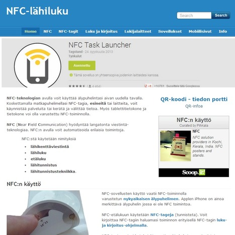 NFC-lähiluku | NFC & RFID News and Trends | Scoop.it