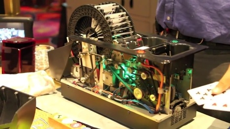 A look inside a casino card shuffling machine | Heron | Scoop.it