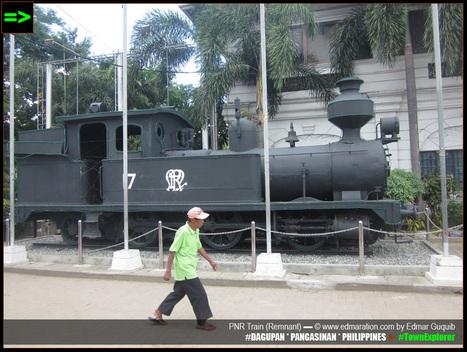 EDMARATION #TownExplorer: [Dagupan] Century-Old PNR Train (Remnant): a Link to World War 2   #TownExplorer   Exploring Philippine Towns   Scoop.it