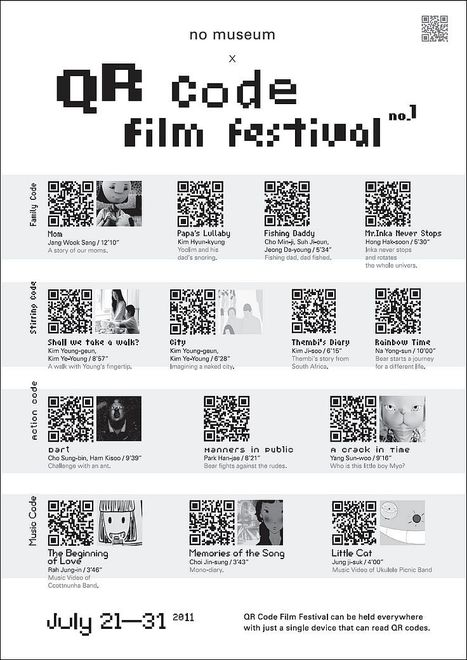 The World's First QR Code Film Festival | QR-Code and its applications | Scoop.it