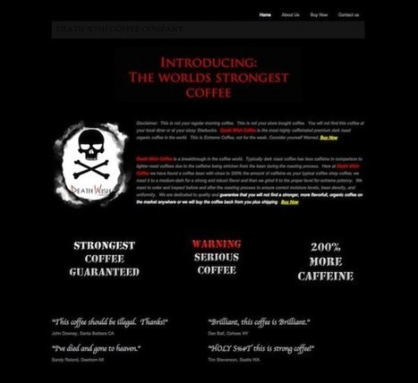 World's Strongest Coffee Has 200 Percent More Caffeine than Average Roasts | Strange days indeed... | Scoop.it