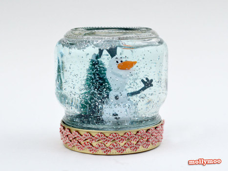 Christmas Crafts: How to Make A Snow Globe | Kids Craft | Scoop.it