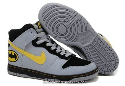 Batman Nike Dunk Shoes♥DC Comics Nike Superhero Batman Sneakers | Custom Cartoon Dunks | Scoop.it