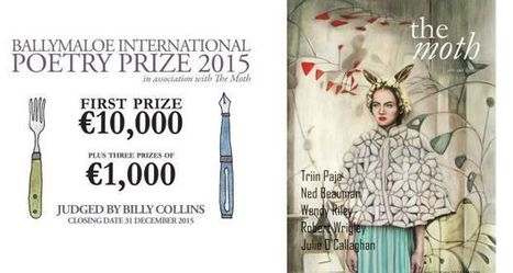 Poets invited to ring in 2016 with €10,000 Ballymaloe International Poetry Prize | The Irish Literary Times | Scoop.it