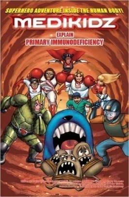 New comic book explains to children about Primary Immunodeficiency | Immunology for University Students | Scoop.it