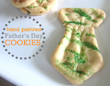 Easy Father's Day Cookies | No Time For Flash Cards - Play and Learning Activities For Babies, Toddlers and Kids | Literacia no Jardim de Infância | Scoop.it