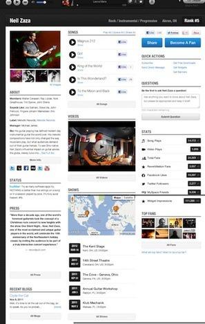Músicos y Redes sociales 2 : Reverbnation para músicos independientes. | Musica | Scoop.it