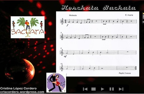 "Partitura Wix: ""Horchata Bachata"" 
