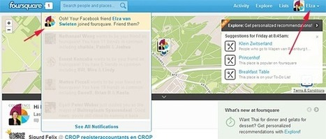 #FFF Foursquare Friend Fail | Positively Social | Scoop.it