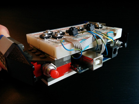 A Lego Game Controller; Just for the Hack of It | Open Source Hardware News | Scoop.it